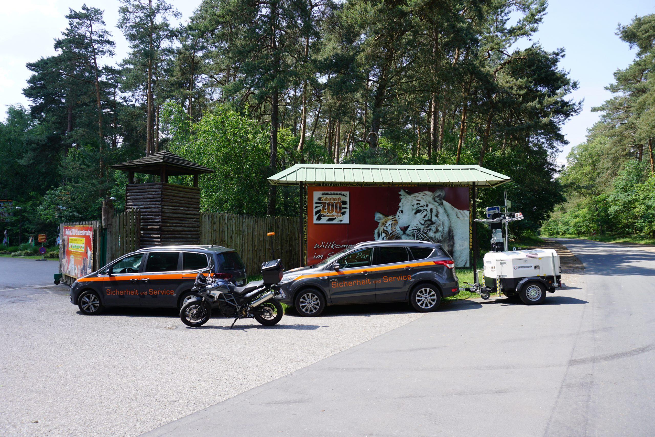 Vorbereitung Großveranstaltung Freizeitpark