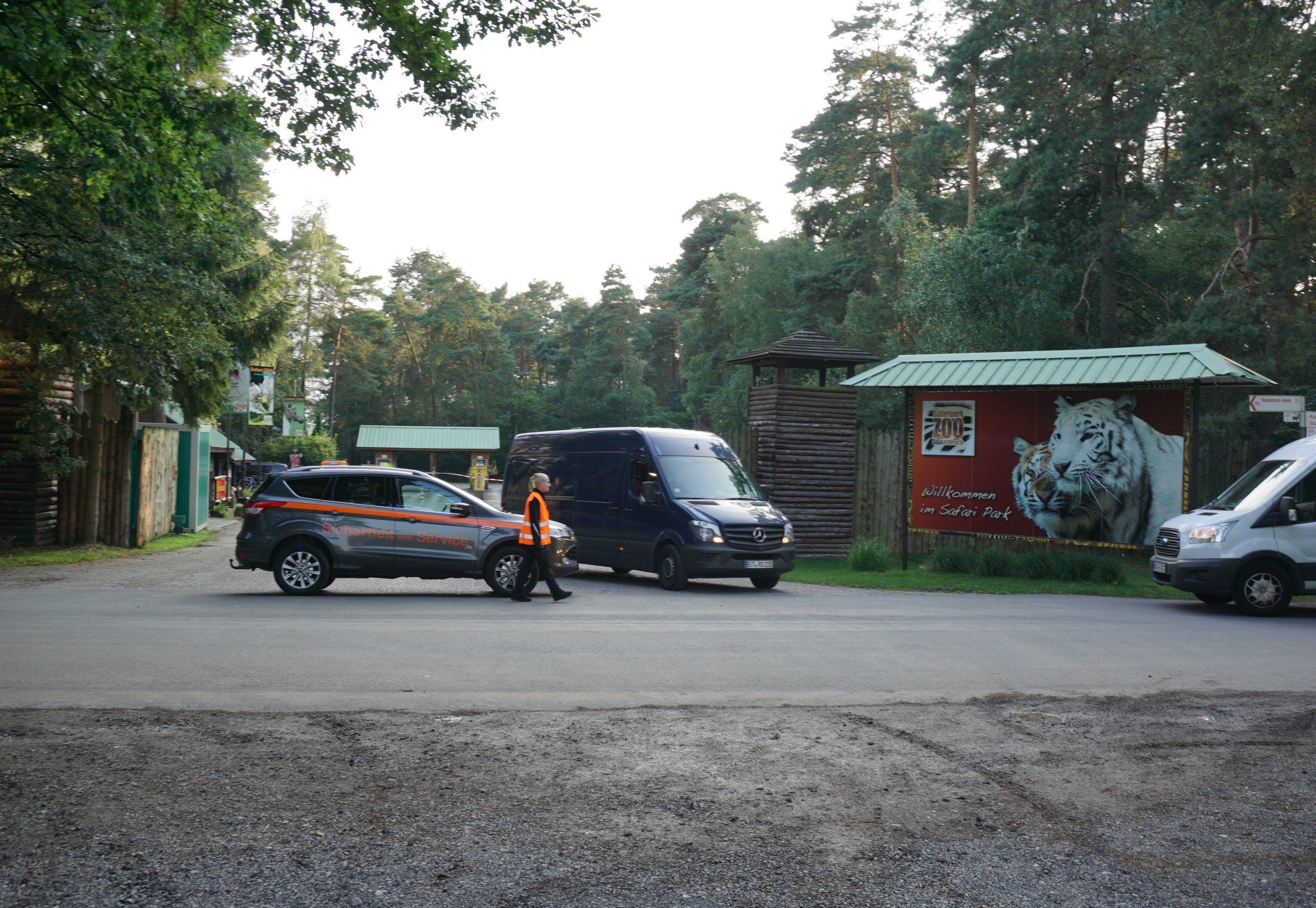 Zufahrtskontrolle Freizeitpark