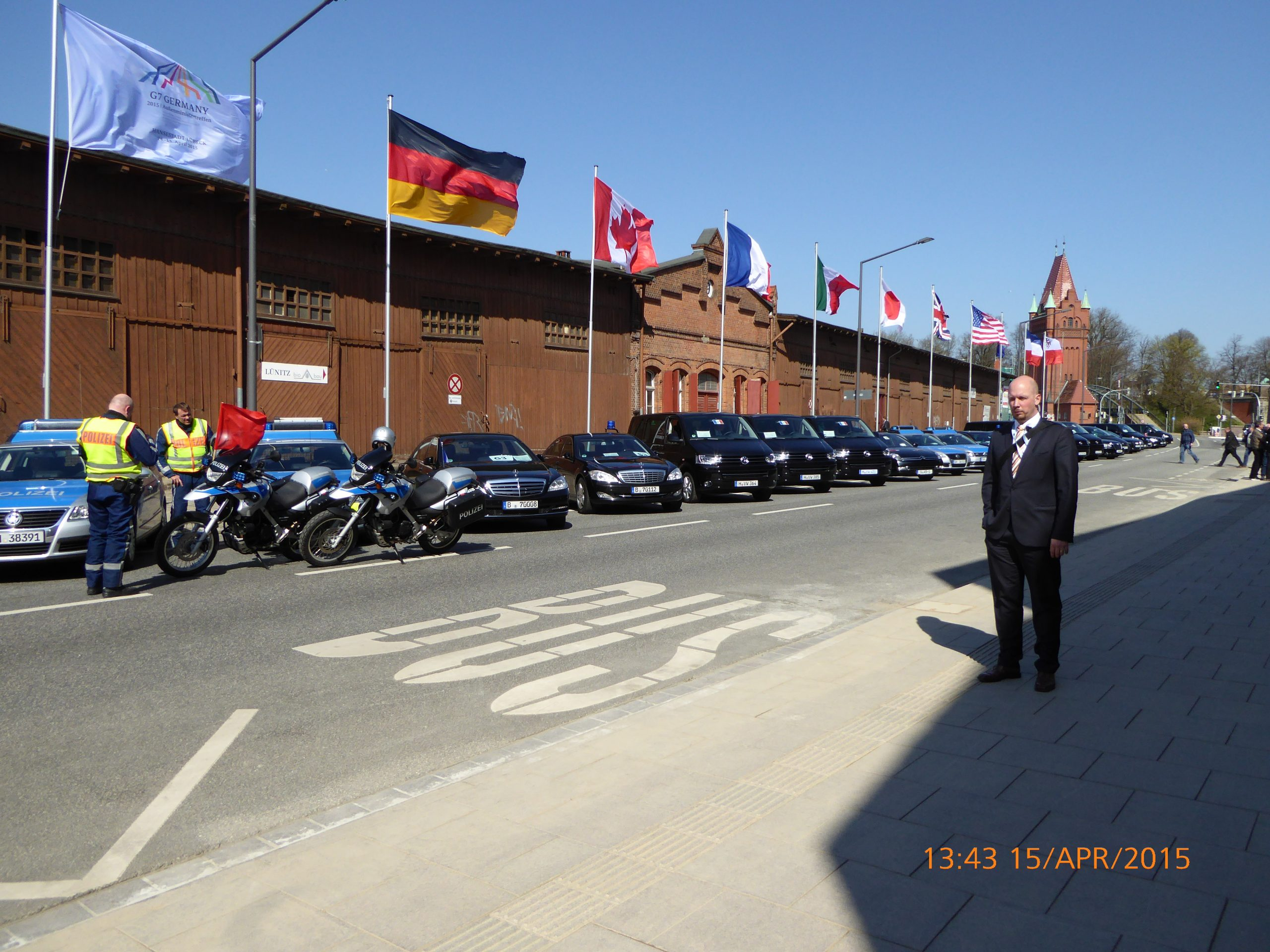 Außenministertreffen zum G7-Gipfel in Lübeck