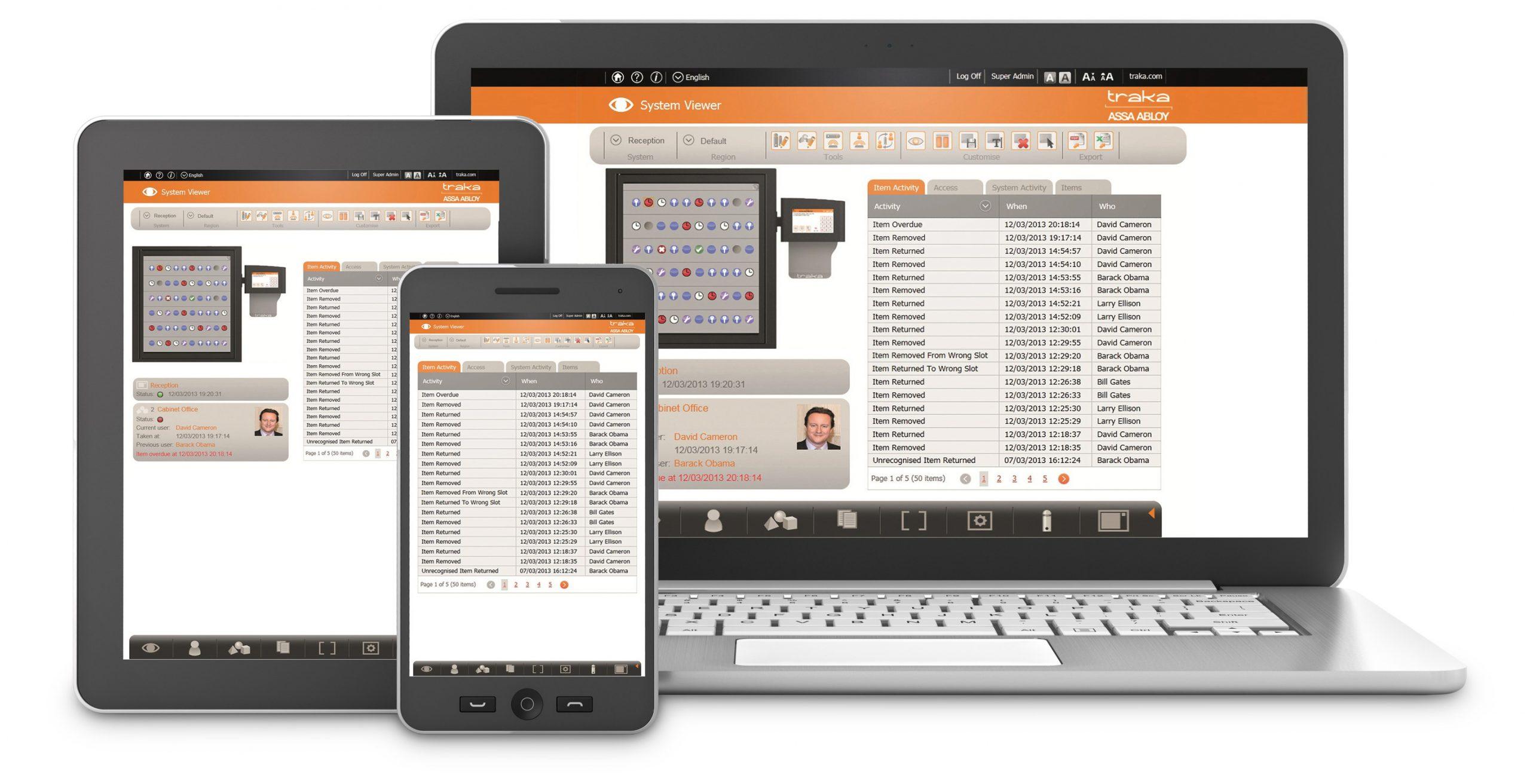 TRAKA Managementsoftware